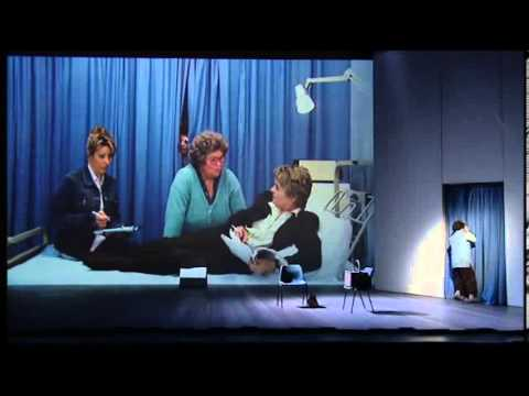 French & Saunders Live – Casualty sketch
