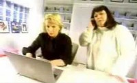 French and Saunders Having Computer Trouble