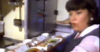 Dawn French Plays A Airline Stewardess In This Culinary Comedy Capers Scoff