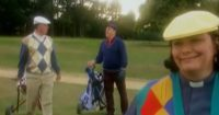 David Horton Is Entertaining A Client On The Golf Course But He Wasn't Expecting Vicar