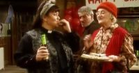 """Mrs Cropley Shares Her """"Chocolate Spread"""" With The Vicar"""
