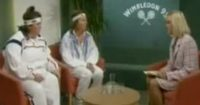 French And Saunders Take On Tennis At Wimbledon And It Is Brilliant