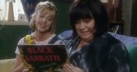 The Vicar Finds An Old Black Sabbath Album But When Alice Reads What's On It? Whoa!