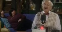 Frank Has His Turn On Dibley Radio But Nobody Was Expecting Him To Come Out