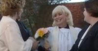 The Vicar Runs Like Crazy To Catch The Bouquet