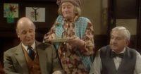 Mrs Cropley Brings Pancakes To The Committee Meeting