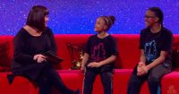Dawn French Interviews The B-Girl Sisters But They Steal The Show